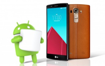 LG G4 will begin getting Android 6.0 Marshmallow next week