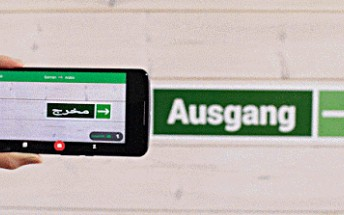 Google Translate update brings instant visual translation between English/German and Arabic