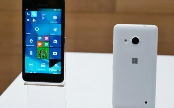 Microsoft gives Lumia 550 a price cut