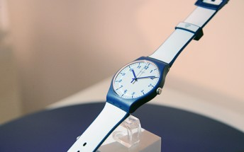 Bellamy is a Swatch watch with NFC payment capabilities