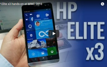 Check out our HP Elite x3 hands-on