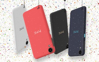 HTC Desire 825, 630 and 530 unveiled, each unit has uniquely speckled back