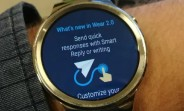Huawei Watch starts getting Android Wear 2.0 update