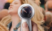 Gear 360 (2017) now shipping, 128GB microSD card included