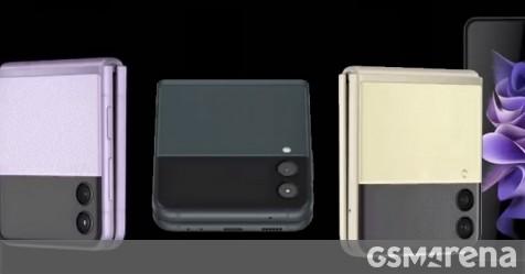 Samsung Galaxy Z Flip3 5G 360 degree video renders show all