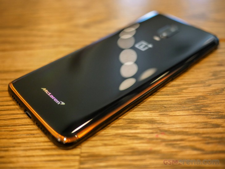sneakers for cheap 8a39c a6f90 OnePlus 6T McLaren Edition review - GSMArena.com tests
