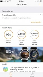 reputable site f6df2 54f03 Samsung Galaxy Watch review: Using it with an iPhone