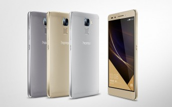 Huawei Honor 7 launches in the UK on August 27