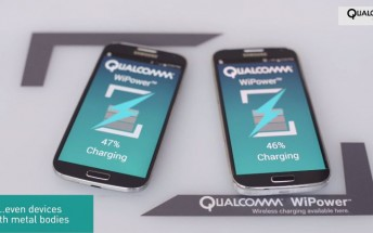 Qualcomm's WiPower brings wireless charging to devices with metal backs