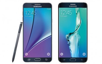 First press renders of the Samsung Galaxy Note 5, Galaxy S6 edge+