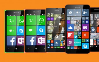 At least six Microsoft Lumias in the works, one with front flash?