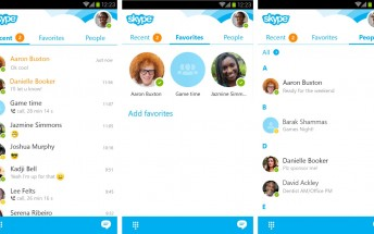 Skype for Android gets updated looks for better usability