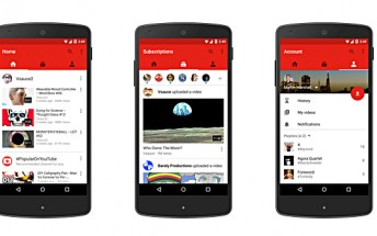 Latest YouTube mobile app update brings three new tabs