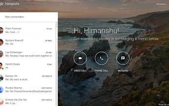 After Facebook Messenger, now Google Hangouts gets a dedicated website