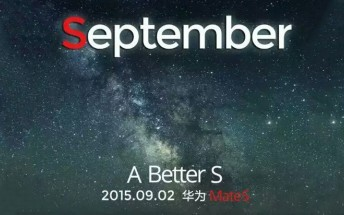 Huawei Mate 7S confirmed for September 2 announcement at IFA