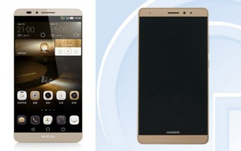 Huawei Mate 7S seemingly certified by TENAA, pictures outed