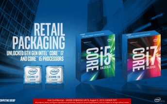 Intel unveils new Skylake Core i7 and i5 processors, overclockers welcome