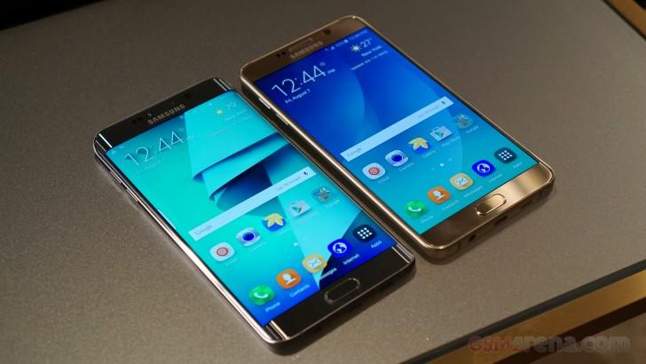Benchmarking Samsung Galaxy Note5 and Samsung Galaxy S6 edge+