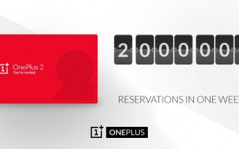 OnePlus 2 passes 2 million invite requests after one week