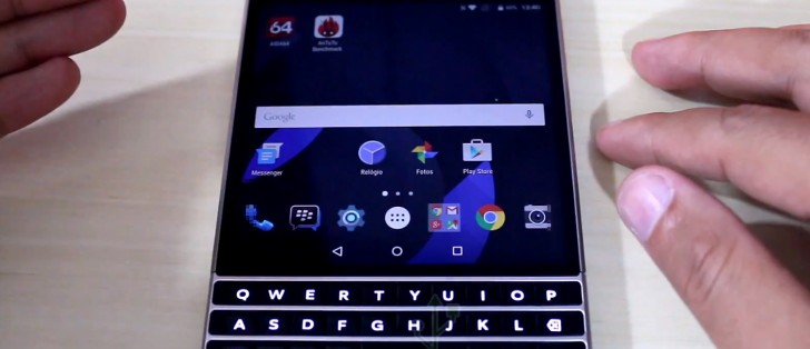 BlackBerry Passport Silver Edition with Android OS gets