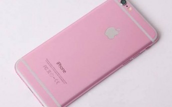 Are those the rose gold iPhone 6s and iPhone 6s Plus?