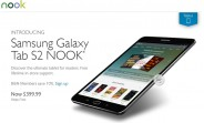 Barnes & Noble latest Nook tablet is based off the Samsung Galaxy Tab S2