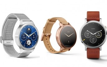 Moto 360 - 2nd Gen and Huawei Watch now up for pre-order on Google Store