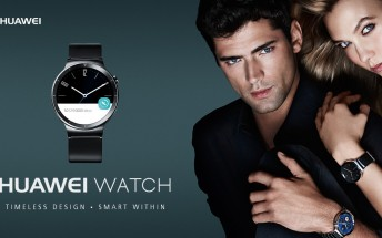 Huawei Watch is now up for pre-order in Europe for €399