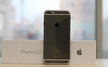 Apple iPhone 6s receives an aftermarket Black Gold coating