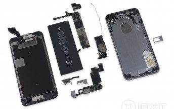 iPhone 6s Plus teardown unsurprisingly reveals heavy display assembly, smaller battery