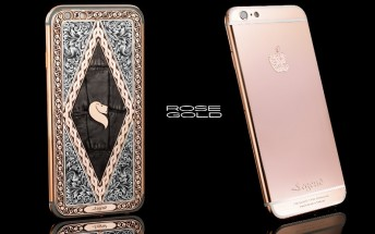 You can buy a real rose gold iPhone 6s if you really want to
