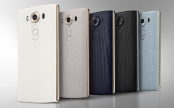LG V10 goes official with secondary display and a duo of front-facing cameras