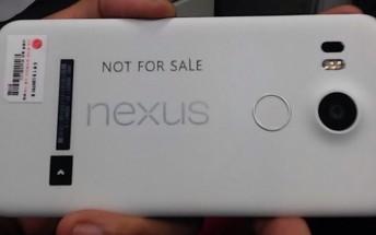 LG's upcoming Nexus 5X now leaks in black, has specs rumored again