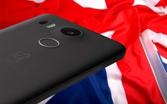 LG Nexus 5X goes on pre-order in the UK
