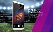 Oppo unveils R7 Plus FC Barcelona Limited Edition phone