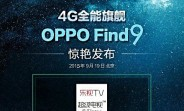 Oppo Find 9 tipped to launch on September 19