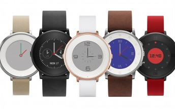 Pebble Time Round goes official with circular body