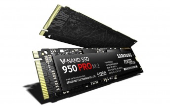 Samsung announces incredibly fast 950 Pro SSD