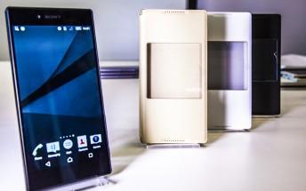 Sony announces accessories for the Z5 range: flip cases, headphones