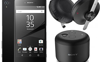 Buy Xperia Z5 Premium in UK and get Sony BSP10 speaker and SBH60 headphones for free
