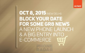 Teaser hints Gionee Elife E8 landing in India next week
