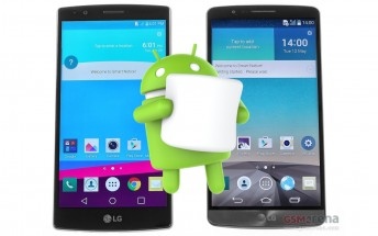 Android Marshmallow might be coming to the LG G3 and G4 pretty soon