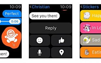 Facebook Messenger update brings support for Apple Watch