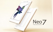 Oppo Neo 7 is official with a 5-inch qHD display and Snapdragon 410