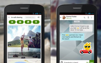 Vodafone Call+ turns plain calls into a multimedia experience