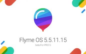 Flyme 5 update for Meizu Pro 5 finally arrives
