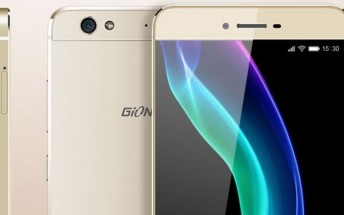 Gionee announces the S6 with slim metal body