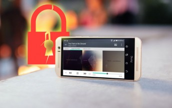 HTC One M9 pattern lock is very easy to bypass