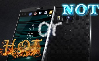 Weekly poll results: LG V10 voted scorching hot