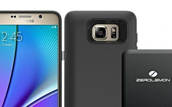 ZeroLemon launches 3,500mAh battery case for Galaxy S6 edge+ and Note 5